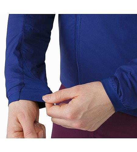 Atom LT Jacket Women's Mystic Stretch Cuffs