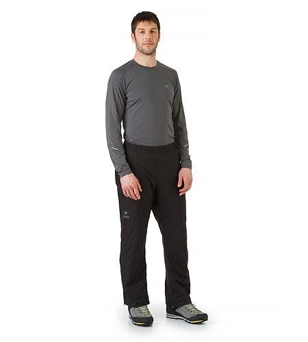 Atom LT Pant in Black: Vorderansicht