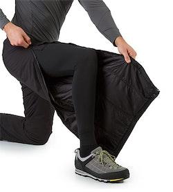 Atom LT Pant Black Side Zipper