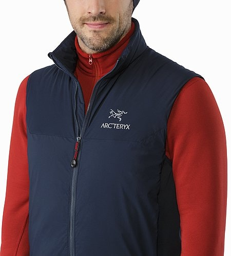 Atom LT Gilet Admiral Col ouvert