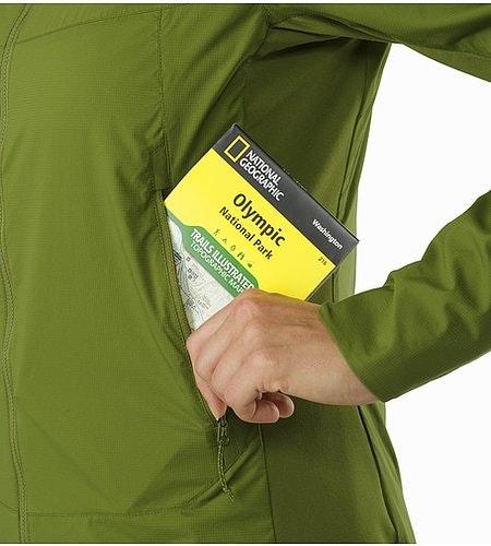 Atom SL Hoody Women's Creekside Hand Pocket
