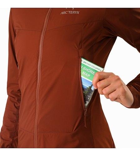 Atom SL Hoody Women's Redox Hand Pocket