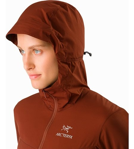 Atom SL Hoody Women's Redox Hood Up