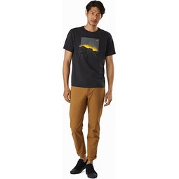 Backlit T-Shirt Black Heather Full View