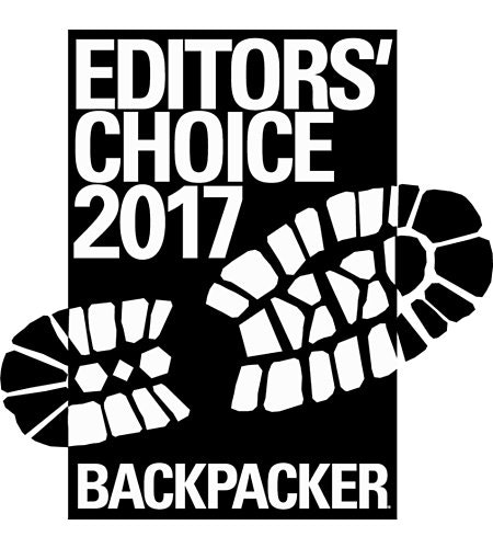 Backpackers Magazine Editors Choice Award