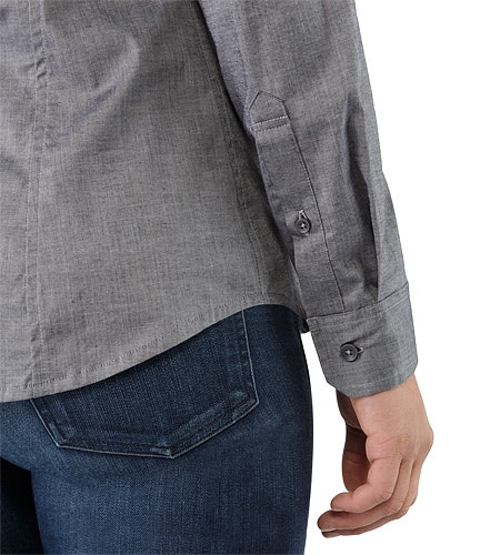Ballard Shirt LS Women's Denim Cuffs