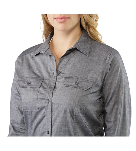 Ballard Shirt LS Women's Denim Neckline