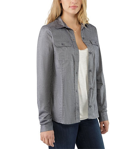 Ballard Shirt LS Women's Denim Open