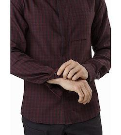 Bernal Shirt LS Black Baccara Cuff