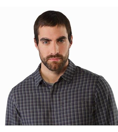 Bernal Shirt LS Cartograph Open Collar