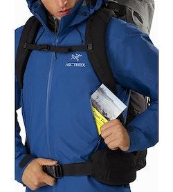 Beta AR Jacket Cobalt Sun Hand Pocket