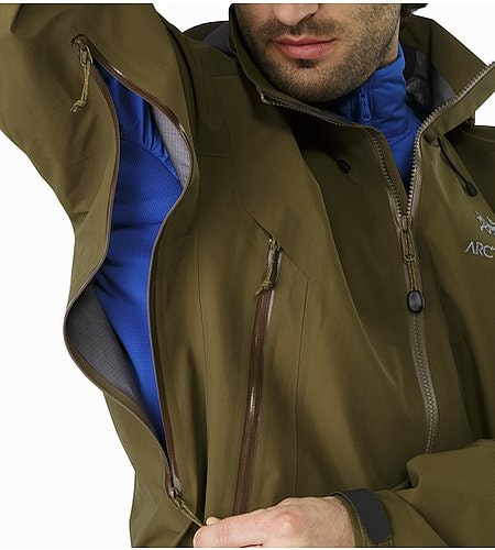 Beta AR Jacket Dark Moss Pit Zip