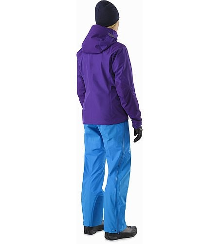 Beta AR Jacket Women's Azalea Back View