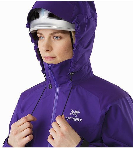 Beta AR Jacket Women's Azalea Hood Adjuster