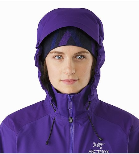 Beta AR Jacket Women's Azalea Hood Front View