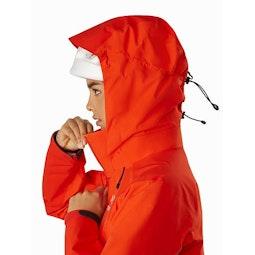 Beta AR Jacket Women's Hyperspace Helmet Compatible Hood