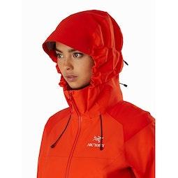 Beta AR Jacket Women's Hyperspace Hood Up