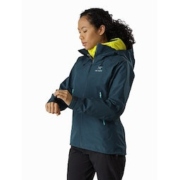 Beta AR Jacket Women's Labyrinth Front View