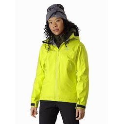 Beta AR Jacket Women's Luciole Front View