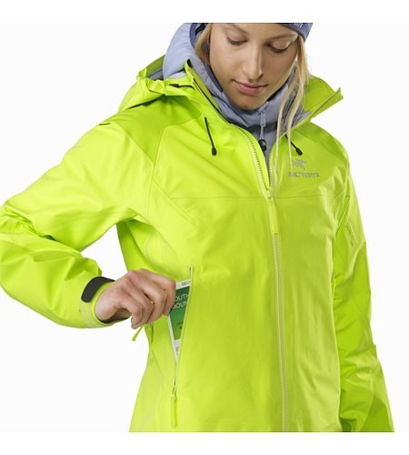Beta AR Jacket Women's Titanite Hand Pocket