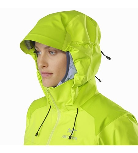 Beta AR Jacket Women's Titanite Hood Up