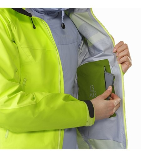 Beta AR Jacket Women's Titanite Internal Security Pocket