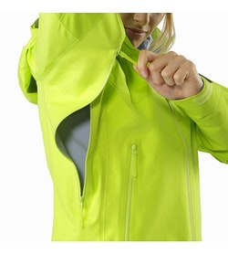 Beta AR Jacket Women's Titanite Pit Zip