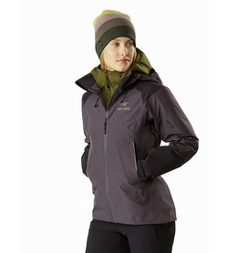 Beta AR Jacket Women's Whiskey Jack Front View