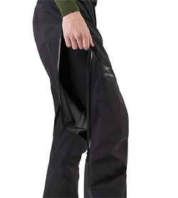 Beta AR Pant Black Side Vent