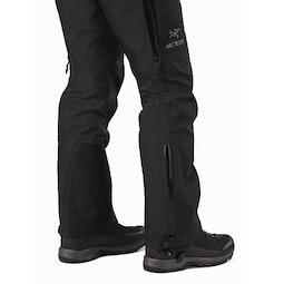 Beta AR Pant Women's Black Lower Leg Zipper Closed