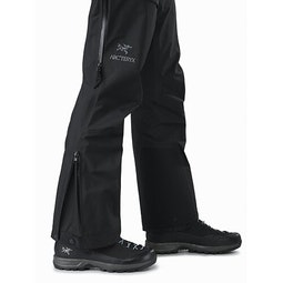 Beta AR Pant Women's Black Lower Leg Zipper Open