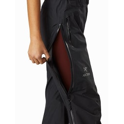 Beta AR Pant Women's Black Side Zipper Vent
