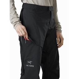 Beta AR Pant Women's Black Thigh Pocket