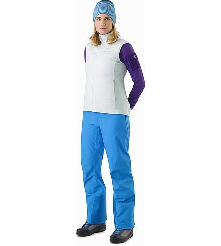 Beta AR Pant Women's Cedros Blue Front View 2