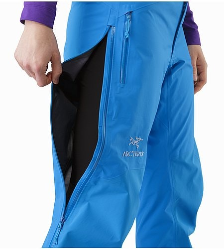 Beta AR Pant Women's Cedros Blue Side Vent 2