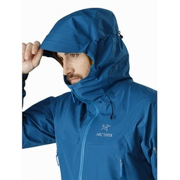 Beta LT Jacket Iliad Hood Side View