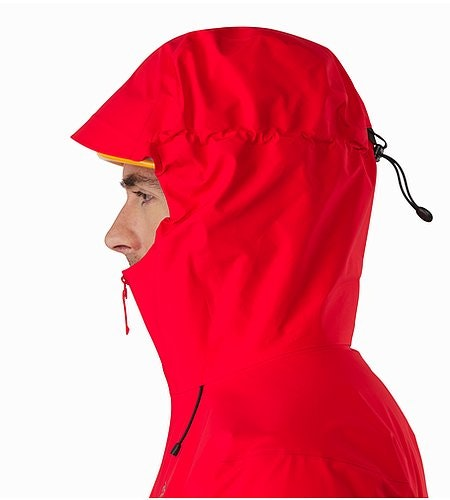 Beta LT Jacket Matador Helmet Compatible Hood Side View