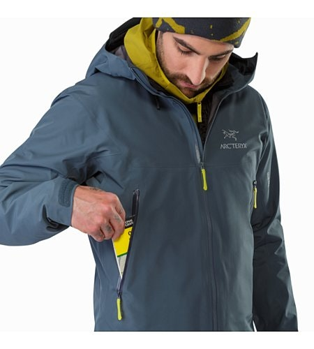 Beta LT Jacket Neptune Hand Pocket