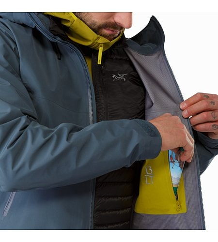 Beta LT Jacket Neptune Internal Security Pocket