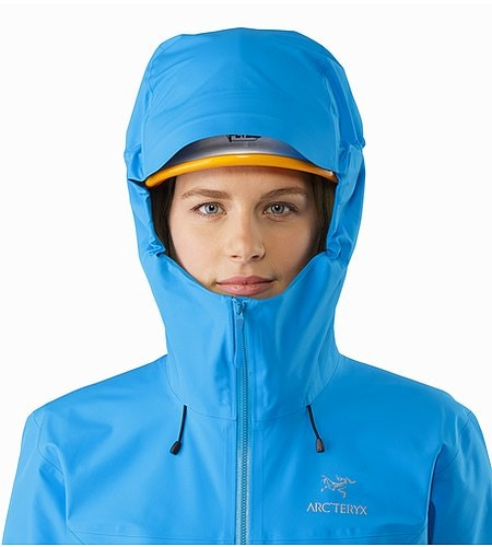 Beta LT Jacket Women's Baja Helmet Compatible Hood Front View 2