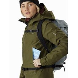 Beta LT Jacket Women's Bushwhack Hand Pocket