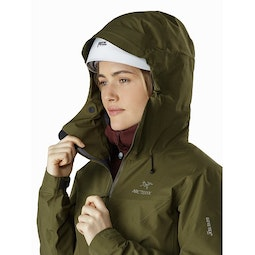 Beta LT Jacket Women's Bushwhack Helmet Compatible Hood