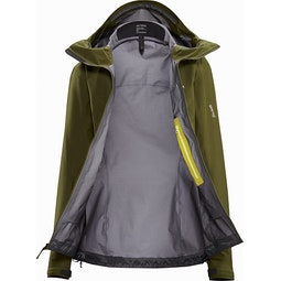 Beta LT Jacket Women's Bushwhack Interior View