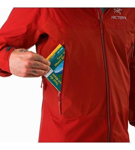 Beta SL Hybrid Jacket Infrared Hand Pocket