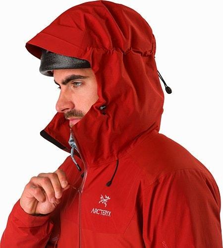 Beta SL Hybrid Jacket Infrared Helmet Compatible Hood
