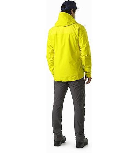 Beta SL Hybrid Jacket Lichen Back View