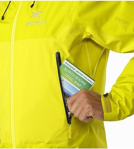 Beta SL Hybrid Jacket Lichen Hand Pocket