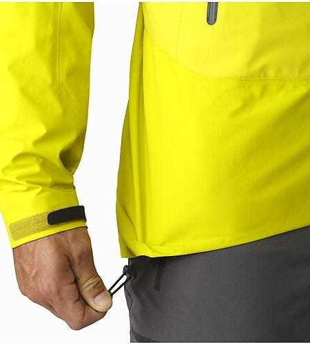 Beta SL Hybrid Jacket Lichen Hem Adjuster