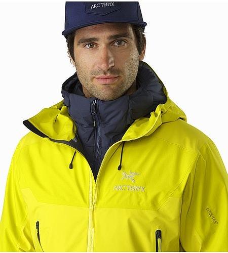 Beta SL Hybrid Jacket Lichen Open Collar