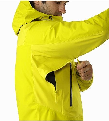 Beta SL Hybrid Jacket Lichen Pit Zip